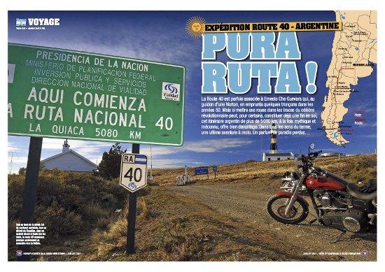 Freeway Magazine - Route 40 en Harley-Davidson - Partie 1