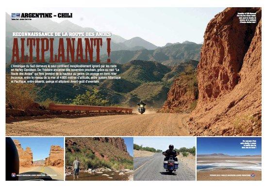 La Route des Andes, un road trip moto en Harley-Davidson