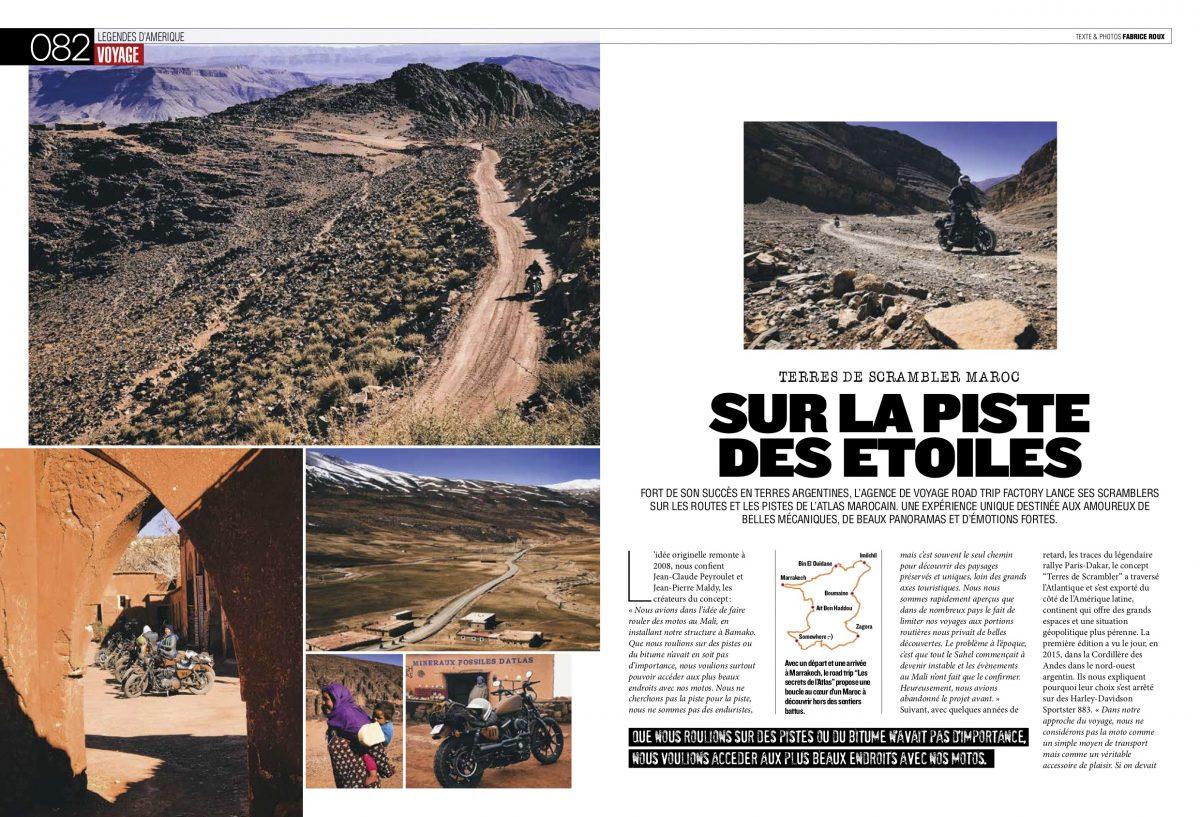 Freeway Magazine #317 – Ride en scrambler H-D au Maroc