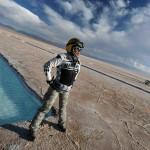 Salinas Grandes sur un voyage moto Harmey en Argentine