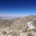 La Cordillère des Andes lors d'un voyage moto Harley en Argentine