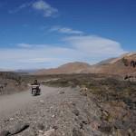 La Route 40 en Argentine sur un voyage moto Harley