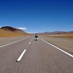 Le Paso de Jama sur un voyage moto Harley en Argentine et Chili