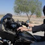 Une Harley-Davidson Road Glide au Maroc sur un voyage moto Harley