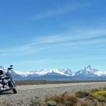 Le Fitz Roy sur un voyage moto Harley en Patagonie