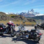 Le Fitz Roy en Patagonie lors d'un voyage moto Harley en Argentine