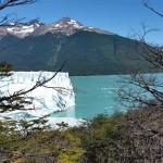 Le Glacier Perito Moreno lors d'un voyage moto Harley en Patagonie