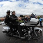 A Cusco lors d'un voyage moto Harley au Pérou