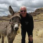 Rencontre sur un voyage moto Harley au Pérou