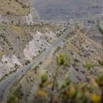 Canyon du Colca au Pérou lors d'un voyage moto Harley