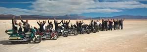 Voyage moto en Argentine en Harley-Davidson - Salinas Grandes