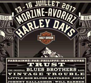 Morzine Harley Days 2017