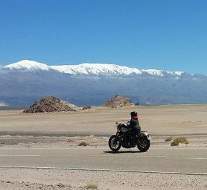 Voyage moto en Argentine sur la route d'el Penon