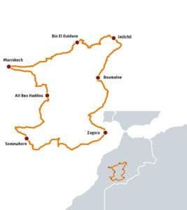 Le circuit du ride moto au Maroc avec Terres de Scrambler