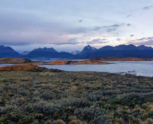 Voyage à moto en Patagonie - Balade sur le Canal de Beagle