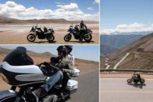 Nos univers de voyage à moto, différente façons d'aborder le voyage et la moto : Harley & Big Twin, Scrambler, Trail