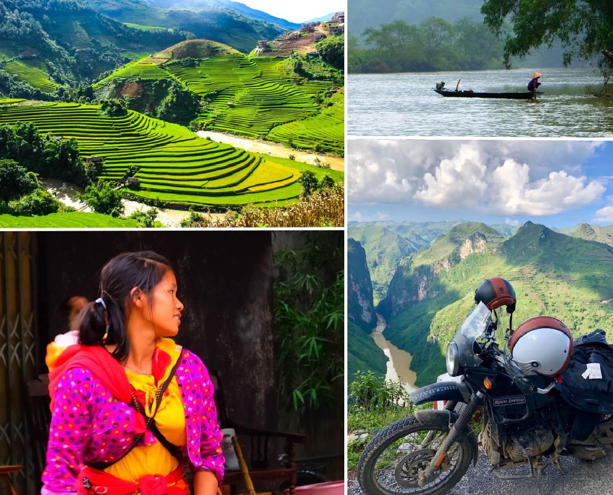 Découvrez le nord du Vietnam à moto