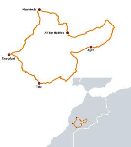 Le Haut Atlas et l'Anti Atlas au Maroc en Royal Enfield Himalayan