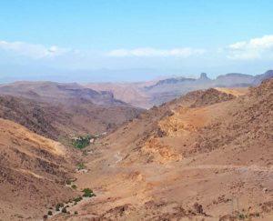 Panorama de l'anti-atlas au Maroc